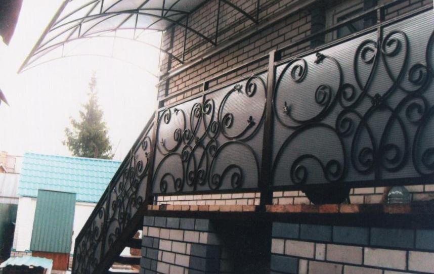 """Галерея фото: изделия из листов поликарбоната - портфолио """"п."""